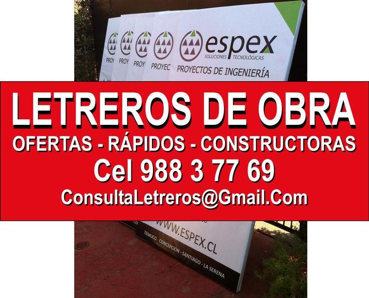 LETREROS DE OBRA, GIGANTOGRAFIAS, PERMISOS DE EDIFICACION,http://www.letreros-pendones-gigantografias-autoadhesivos-lienzos.cl
