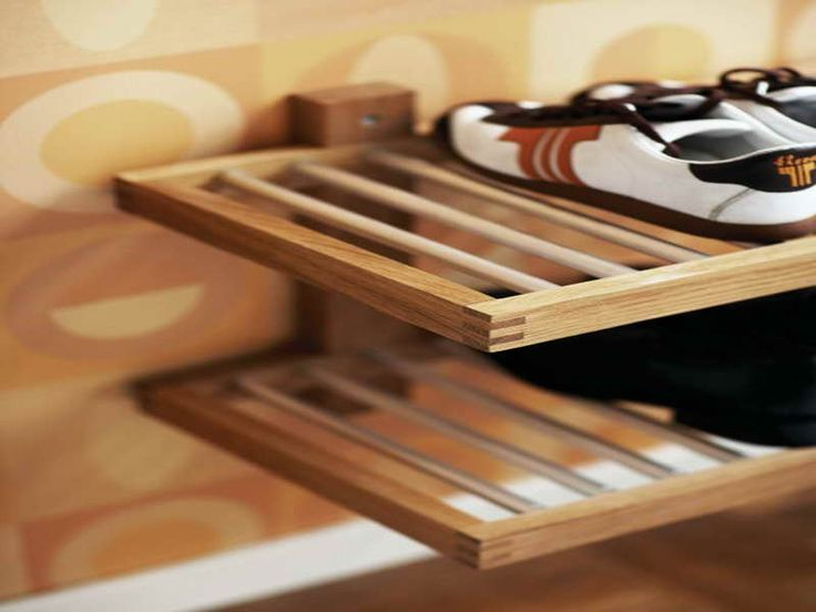 hat and shoe rack with simple design