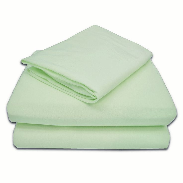 TL Care Jersey 3-pc. Toddler Sheet Set, Green One Size