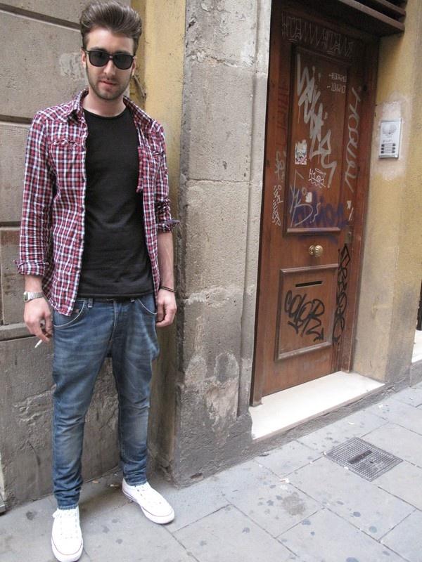 Barcelona Street Style - Man