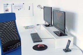 Doppel-Monitorständer für Galant