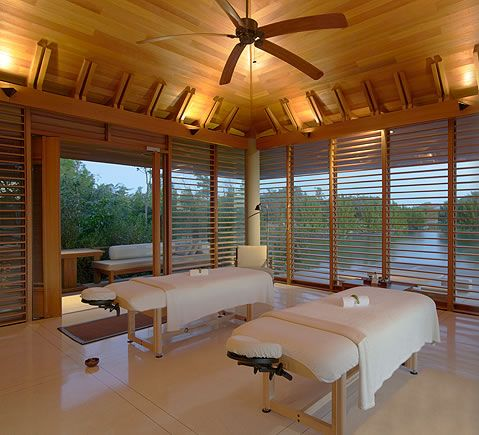 AMANYARA the spa treatment room. #amanyara #turks #caribbean #island #travel #secret #escapes amanyara.com