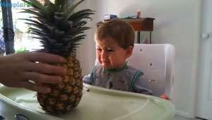 Cute Kids And The Food That Scares Them - Stupid Videos