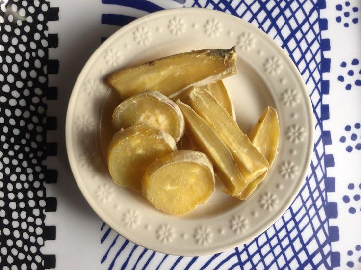 炊飯器でふかしたさつまいもを干すだけ!意外と簡単な自家製「干し芋」の作り方