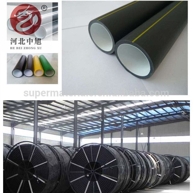 Silicon core pipe Fiber optic cable protection HDPE pipe supplier