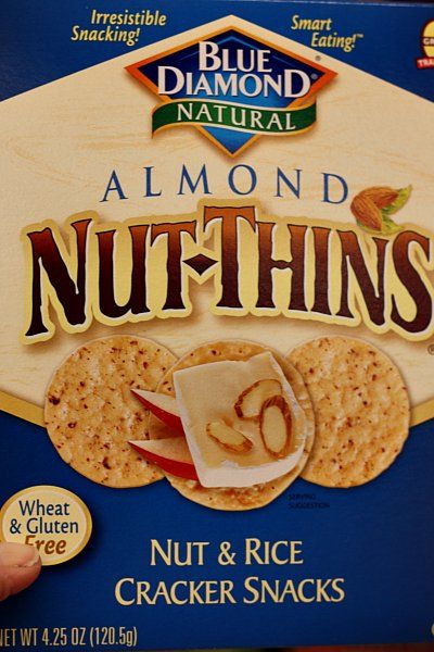 Dietitian-approved low FODMAP brand name foods These almond crackers are the best.