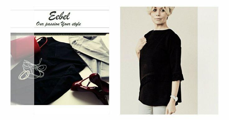 Be elegant in casual way...  Elegant blouse by Eebel: https://eebelfashion.wixsite.com/eebelfashion