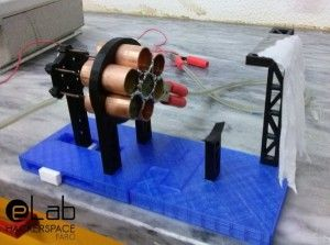 3D Print Your Own Working Ion Thruster Spacecraft Engine