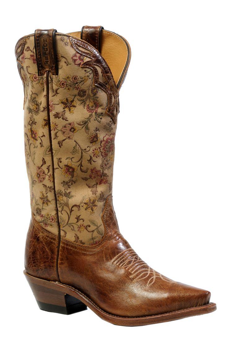 Boulet Ladies' Western Boots 4630