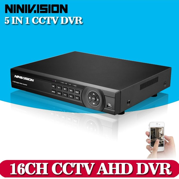 143.93$  Watch now - http://alig4i.shopchina.info/1/go.php?t=32360023805 - NINIVISION CCTV DVR 16Ch Digital Video Recorder AHD 16 Channel 1080P Hybrid Home Security DVR 2.0MP HDMI Output Onvif P2P NO HDD  #aliexpress