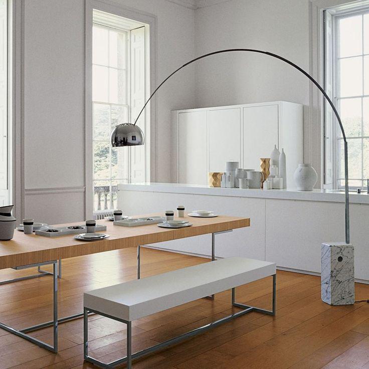 17 meilleures id es propos de lampadaire arc sur pinterest lampadaire noi - Lampe arco pied marbre ...