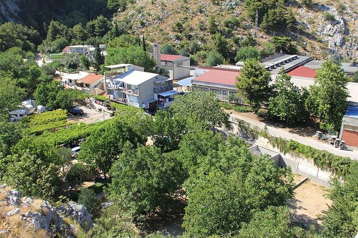 Auto-Camp Lisičina in Omiš Croatia #croatia #chorwacja