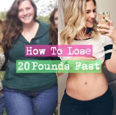 How To Lose 20 Lbs Fast - The Best Way to Burn Fat and Lose Pounds Quickly