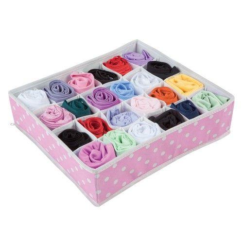 Organizador de peças íntimas - calcinha - Pink