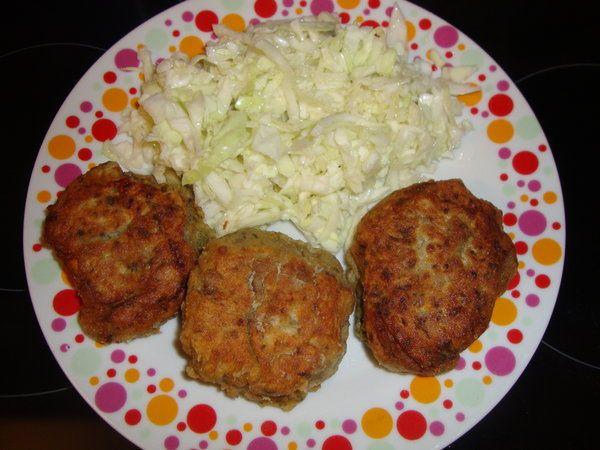 Chiftele de vinete (melitzanokeftedes)  - Bucataria cu noroc
