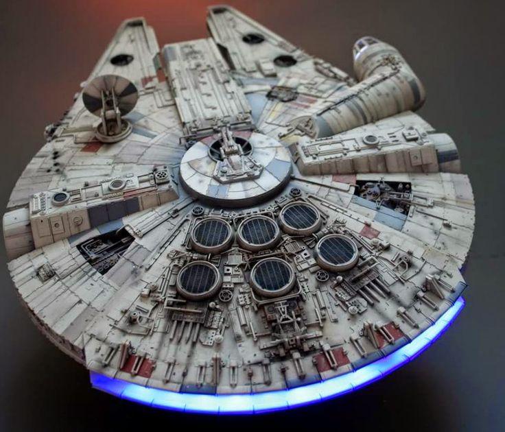 Millennium Falcon Fine Mold 1/72 STAR WARS - HANGAR 019