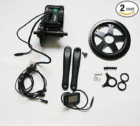 Biktrix 48V 500W DIY Electric Bike Kit - Bafang mid motor - including Samsung 10.4Ah battery - OyDeals