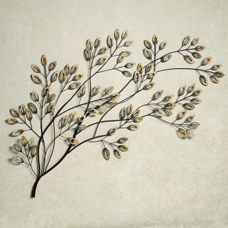 Tree Branch Wall Decor Metal : Lakewood tree metal wall sculpture art trees