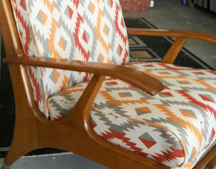 upholstered by Long Lost Loved Upholstery & Designs. Shop 65 Stanley Street Toora