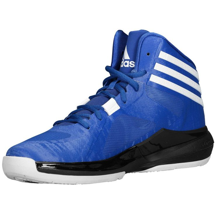adidas Crazy Strike - Men's - Basketball - Shoes - Royal/White/Black