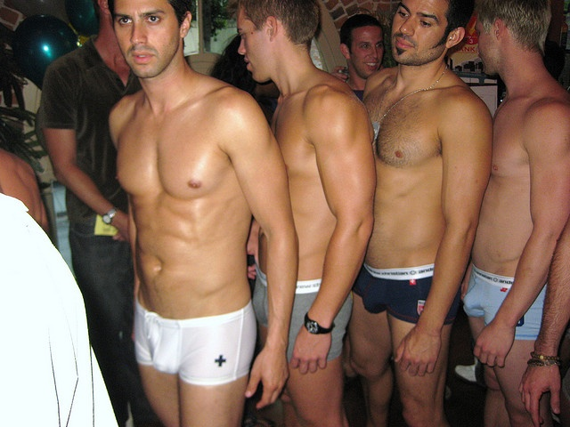 Andrew Christian Underwear Models Line Up by calvinfleming, via Flickr