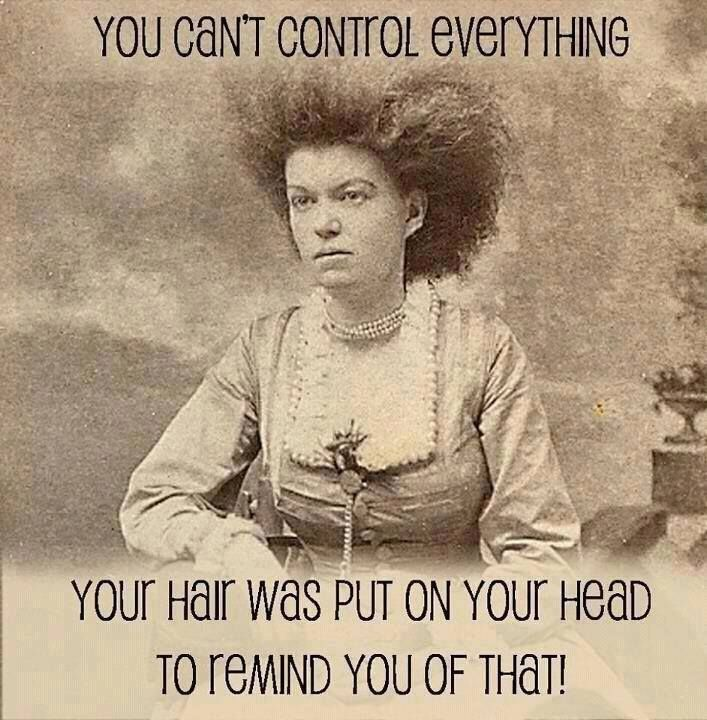 hair control to major tom