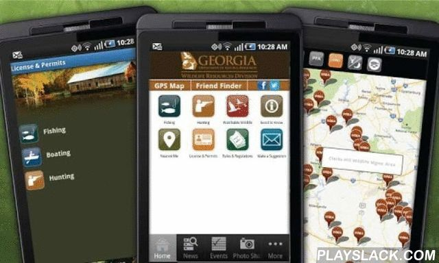 GA Fish & Wildlife Guide  Android App - playslack.com ,  The Official Fishing, Hunting & Wildlife Guide for Georgia DNR Wildlife Resource Division is free to download!Gain access to useful information in the palm of your hand. This innovative outdoor guide, powered by Pocket Ranger® technology, brings the wilderness to your fingertips and helps you plan the perfect adventure in the great outdoors. You will be able to locate Georgia's fishing, hunting and wilderness sites and gain…