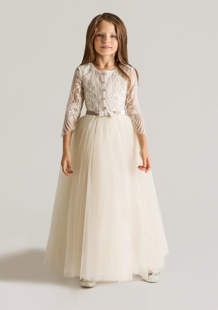 wedding flower girl dresses cheap 2016 vintage rustic formal occasion flower dresses 9503