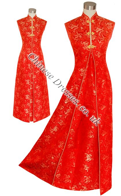red chinese dress (sorry about the watermark)