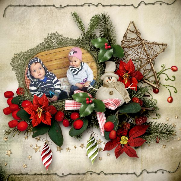 * Merry Christmas* by Samal & Rossi  http://www.digiscrapbooking.ch/shop/index.php…