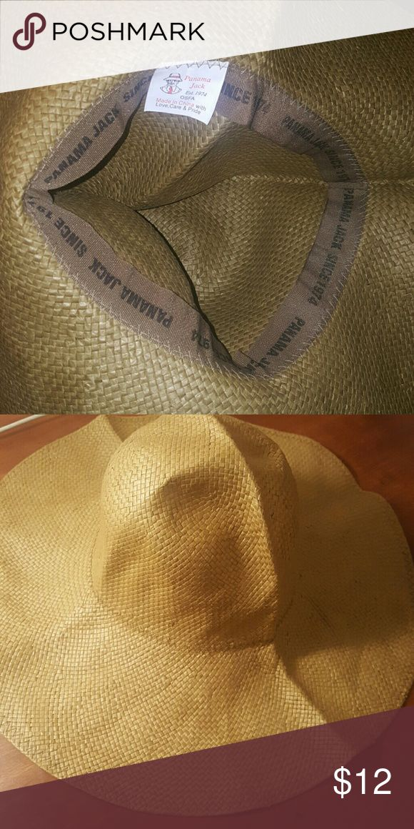 Panama Jack Beach Hat Floppy Panama Jack Beach Hat. New condition. panama jack Accessories Hats