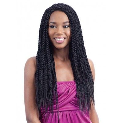 Freetress Equal Lace Front Wig HOT SINGLE TWIST (Braid Wig)