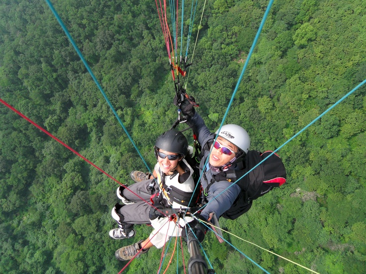 #PotentialistCanada - Trip Purpose 2: Travel and have new adventures - Paragliding over Mt. Yumyang, South Korea