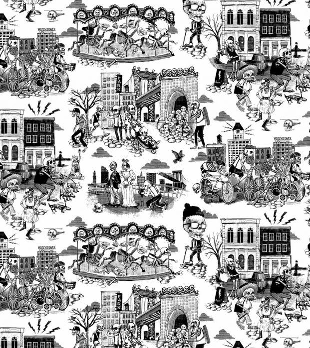flavorpaper Wallpaper, Toile wallpaper, Wallpaper walls