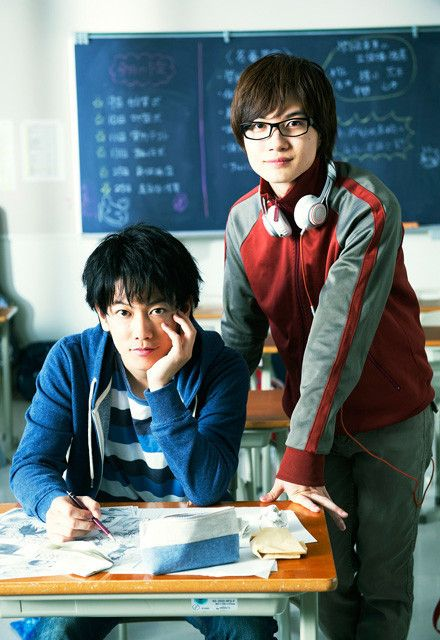 Sato Takeru and Kamiki Ryunosuke will Act Together Once Again for Bakuman Live Action Movie