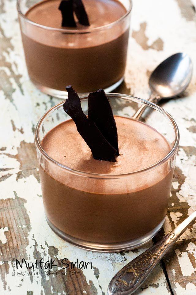 Çikolatalı Mus Tarifi | Mutfak Sırları