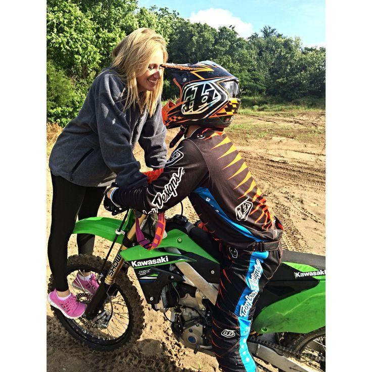 I love my boyfriend, motocross couple game strong #motorcross #motorcrosscouple #relationshipgoals #dirtbikes #kawi