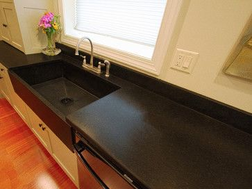 Broomell Kitchen In Lancaster, PA This Is A Custom Made Farm Style Sink.  Made With Granite.