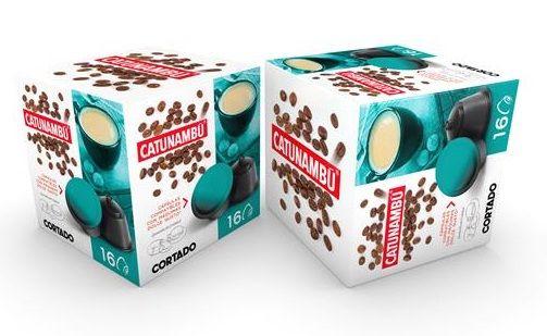 Cortado para cafeteras Dolce Gusto marca catunambu