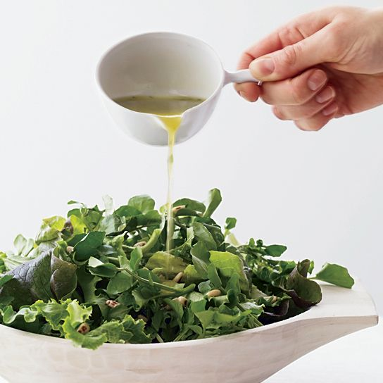 Plus: More Perfect Salad Dressings     Great Green Salads   ...