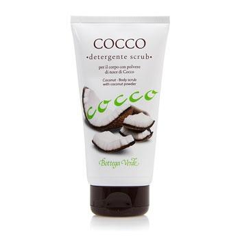 Cocco - Detergente scrub per il corpo con polvere di noce di cocco (150 ml)
