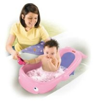 fisher price precious planet whale of a bath tub pink. Black Bedroom Furniture Sets. Home Design Ideas