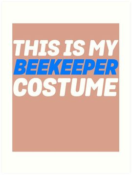 My Beekeeper Costume