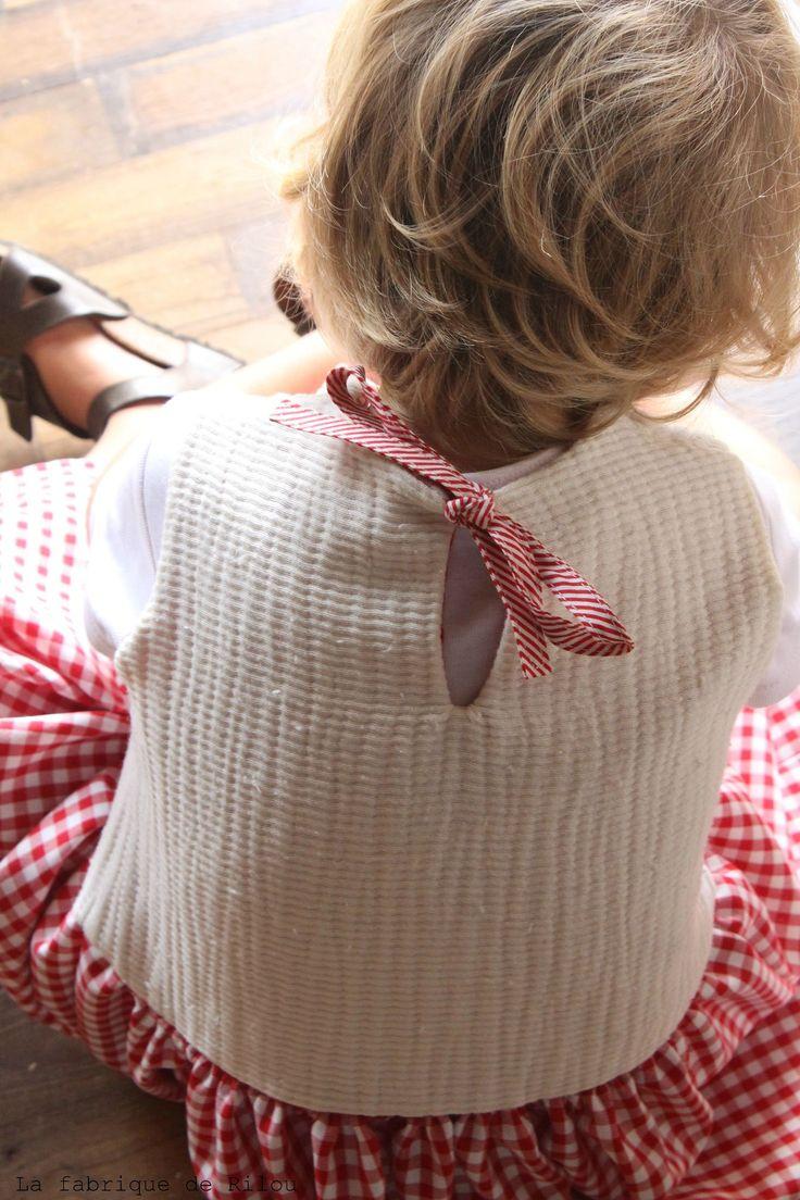 Robe lainage et vichy <3
