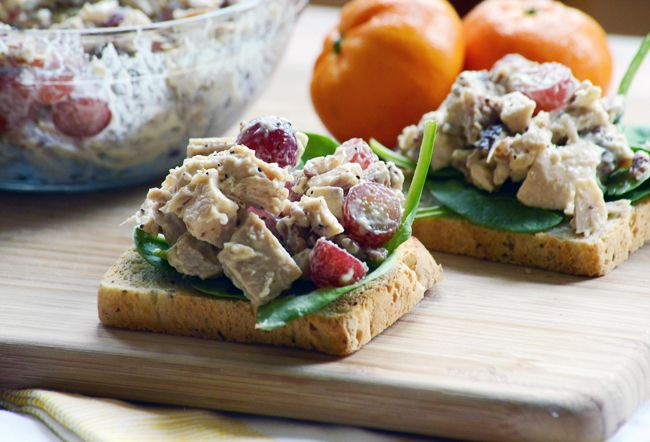 Chicken Salad Sandwiches - Home - A Sweet Simple Life