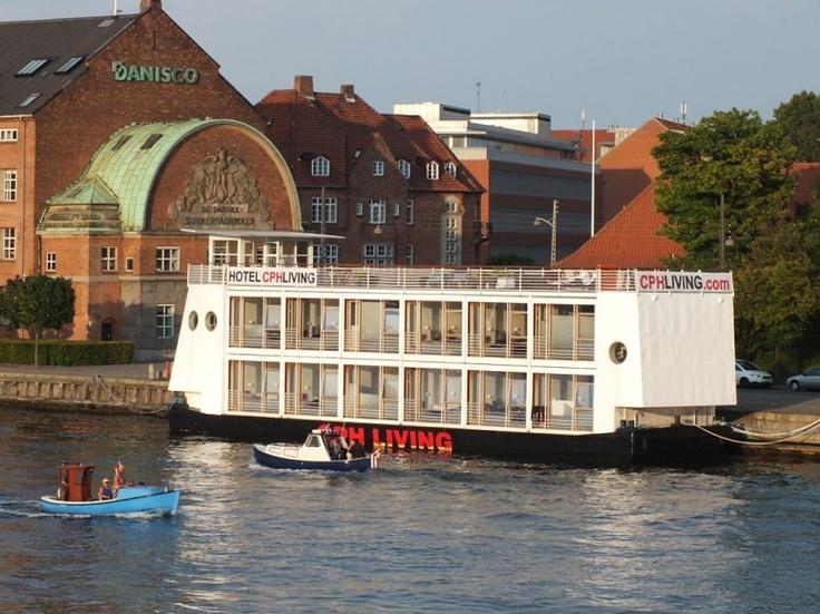 Copenhagen, Denmark..floating hotel CPH living