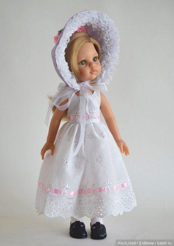 Лиловый, для девочки от Паола Рейна / Одежда и обувь для кукол - своими руками / Бэйбики. Куклы фото. Одежда для кукол
