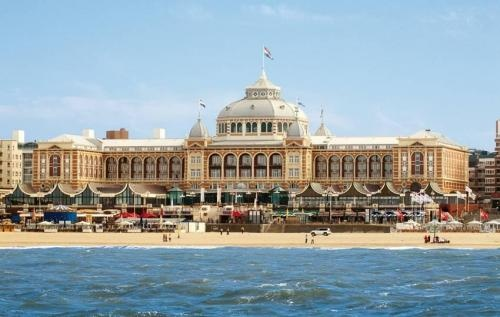 Den Haag, Netherlands. I had to pin with a picture of the Kurhaus because my dad is truly lucky and lives in an amazing apartment right next to it (the building is actually in this picture!).