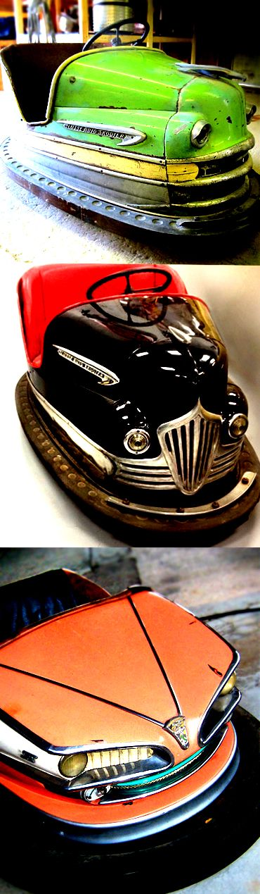 bumper cars from the 30's and 40's