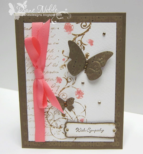 Beautiful sympathy card